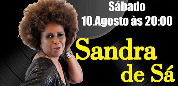 Teatro Municipal Raul Cortez - Sandra de Sá