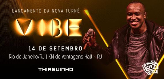 KM de Vantagens Hall - Lançamento da Turnê Vibe - Thiaguinho