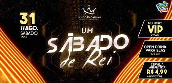 Rei do Bacalhau Rio Petrópolis - Um Sábado de Rei