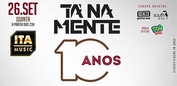 Gravação do DVD do Grupo Tá Na Mente