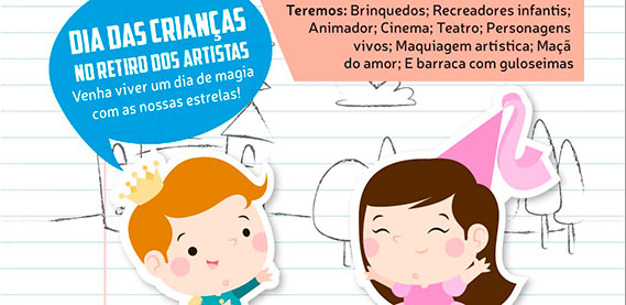 Retiro dos Artistas - Dia das Crianças