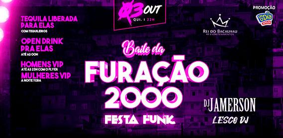 Rei do Bacalhau Rio Petrópolis - Baile da Furacão 2000