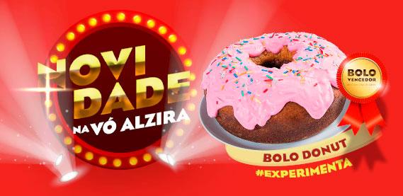 Combo Festa Vó Alzira - Bolo Donuts