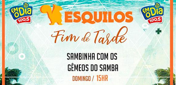 Quiosque 2 Esquilos - Gêmeos do Samba