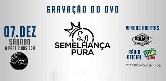 Gravação do DVD do Grupo Semelhança Pura