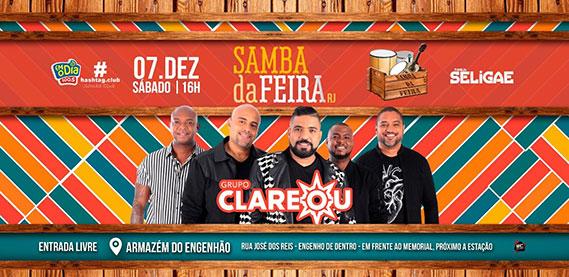 Armazém do Engenhão - Samba da Feira com Clareou