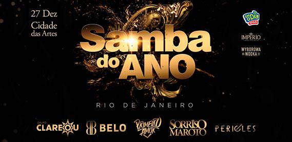 Cidade das Artes - Samba do Ano Pré Reveillon 2020