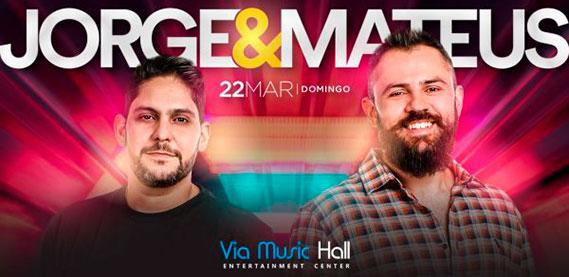 Via Music Hall - Jorge e Mateus