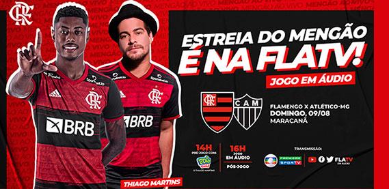 Estréia do Mengão na Fla TV