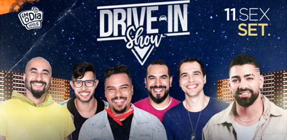 Drive-In Show Sorriso Maroto + Dilsinho no Espaço Hall