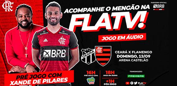 Acompanhe o Mengão na FLA TV