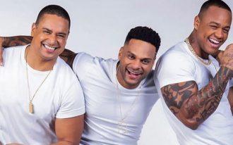 Xanddy, do Harmonia; Tony Salles, do Parangolé; e Léo Santana farão encontro de trios em live no Carnaval. (Reprodução/Instagram)